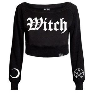 Killstar Witch Cropped Sweater